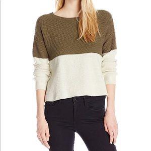Volcom| Fine Lines Crew-Neck Boxy Pullover Sweater